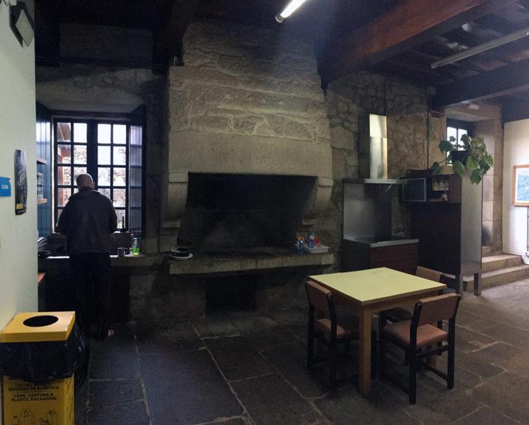 day10 Albergue De Padron. Compostela Portuguese