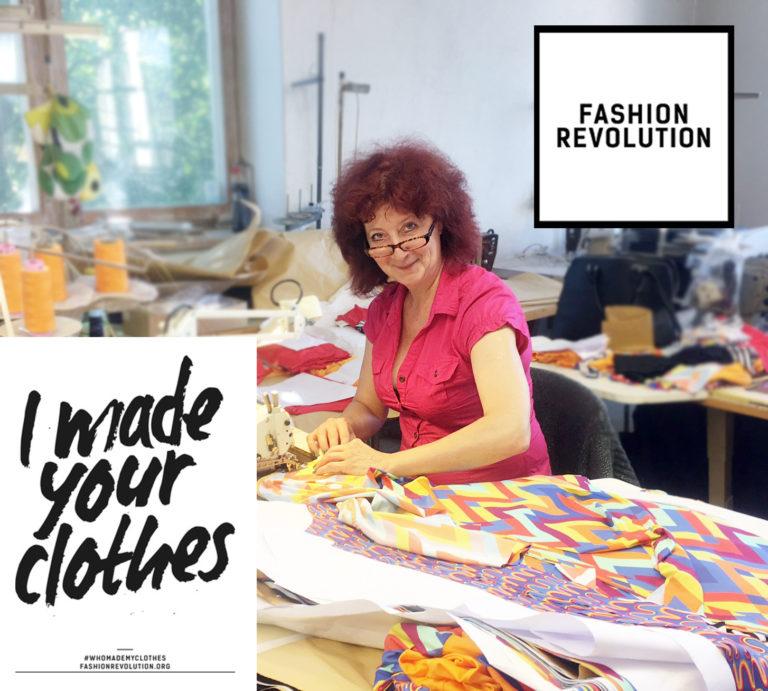 Fashion revolution TUUB Anja sewing 2017