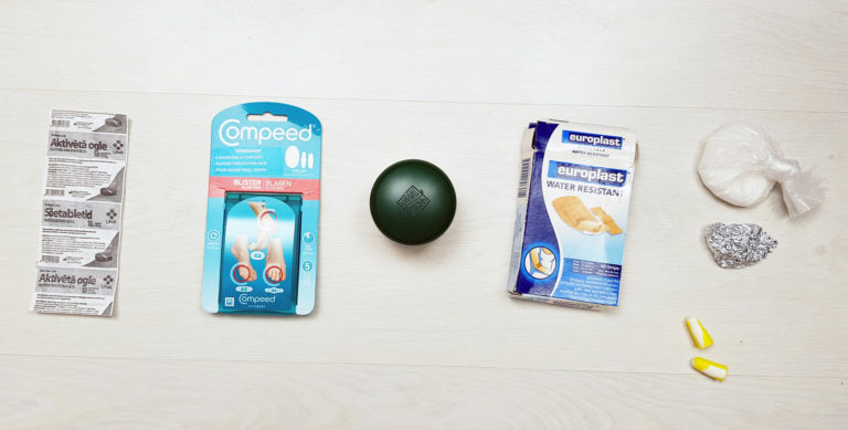 camino 6 First Aid and MEDICAL SUPPLIES TIPS for Camino with TUUB