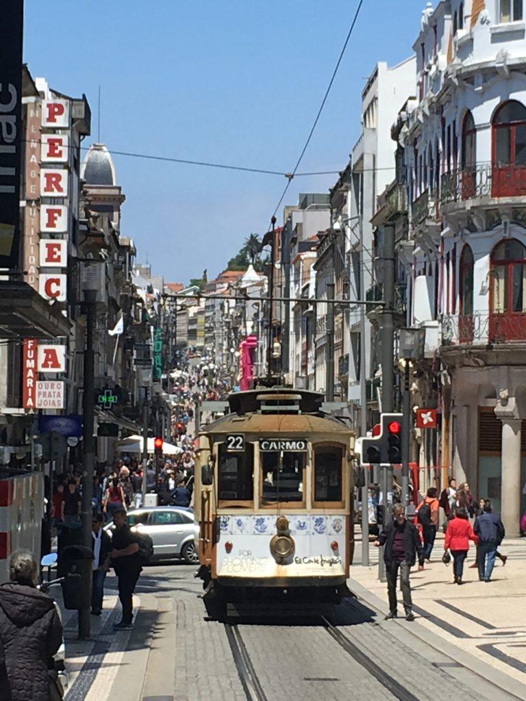 Porto. Rua de Santa Catarina