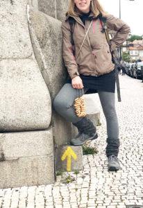 Santiago de Compostela Portugese costal. TUUB merino. Garmont Santiago Low Gtx (1)