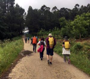 day11 - Padron to Santiago do Compostela