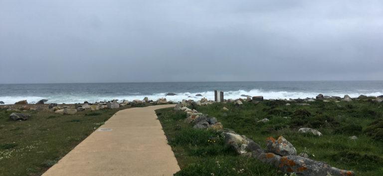day2 Povoa de Varzim to Marinhas. Atlantic Ocean, Camino Portuguese Costal
