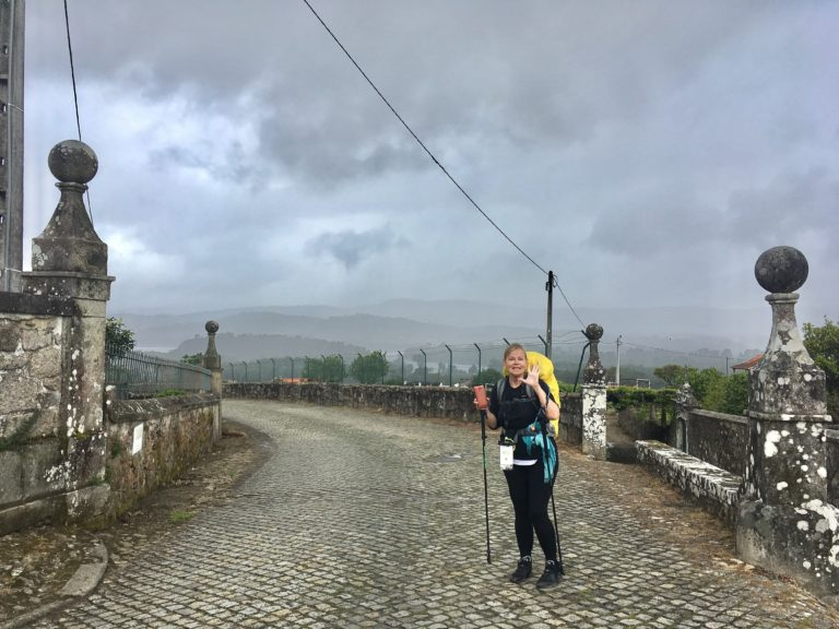 day5 Caminha to Valenca. Meeting camino friends on the way. (1)
