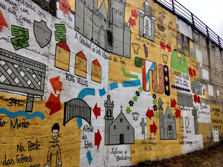 day5 TUI Padron Santiago de Compostela. Travel light Camino (1)
