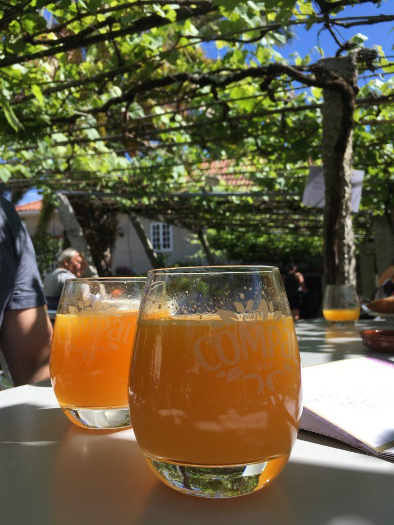 day9 cafe in BARRO.Pontevedra to Caldas de Reis