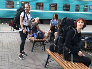 TUUBi ja seljakotiga Kasahstanis